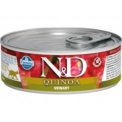 N&D Kornfri Cat Quinoa Urinary vådfoder 85gr